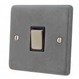 Standard Plate Pewter Rocker Light Switches
